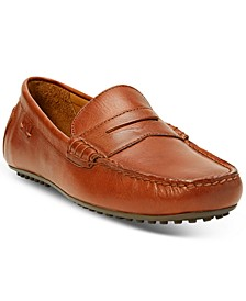 Men's Burnished Leather Loafers