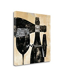 """Wine Selection I by Daphne Brissonnet Giclee Print on Gallery Wrap Canvas, 30"""" x 30"""""""