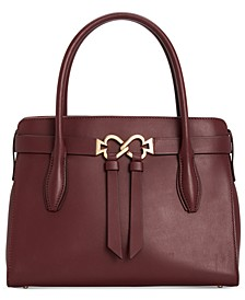 Toujours Small Leather Satchel