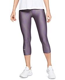 HeatGear® Printed Compression Capri Leggings