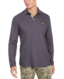 Men's Big & Tall Limited Edition 5 O'Clock Long Sleeve Polo Shirt