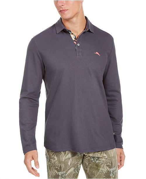 Tommy Bahama Men's Long Sleeve Polo Shirt