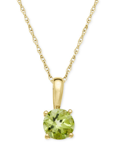 necklace stauer peridot com item