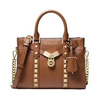 Deals on Michael Michael Kors Nouveau Hamilton Small Satchel
