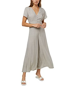 Juniors' Sherman Wide-Leg Jumpsuit