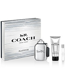 Men's 3-Pc. COACH Platinum Eau de Parfum Gift Set
