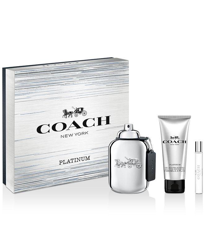 COACH Men's 3-Pc. COACH Platinum Eau de Parfum Gift Set