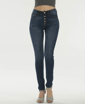 High Rise 5 Pocket Skinny Jeans