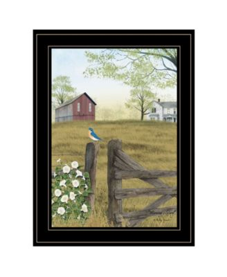 """Morning's Glory by Billy Jacobs, Ready to hang Framed Print, Black Frame, 15"""" x 19"""""""