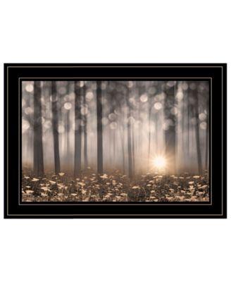 "Enchanted Morning by Lori Deiter, Ready to hang Framed Print, Black Frame, 21"" x 15"""