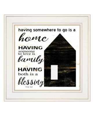 A Blessing by Cindy Jacobs, Ready to hang Framed Print, White Frame, 15