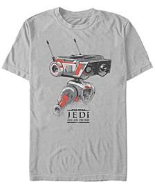 Men's Jedi Fallen Order BD-1 Sketch T-shirt