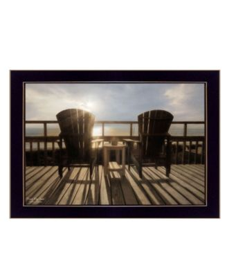 """Front Row Seats By Lori Deiter, Printed Wall Art, Ready to hang, Black Frame, 20"""" x 14"""""""