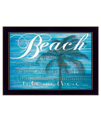 """Take Me There By Cindy Jacobs, Printed Wall Art, Ready to hang, Black Frame, 14"""" x 10"""""""