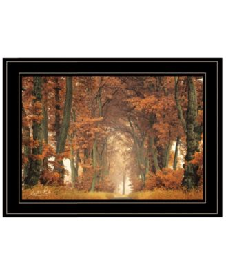 """Follow Your Own Way by Martin Podt, Ready to hang Framed Print, Black Frame, 21"""" x 15"""""""