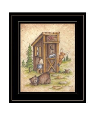 """Still Waiting by Mary Ann June, Ready to hang Framed Print, Black Frame, 11"""" x 13"""""""