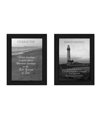 """Character Collection By Trendy Decor4U, Printed Wall Art, Ready to hang, Black Frame, 20"""" x 14"""""""