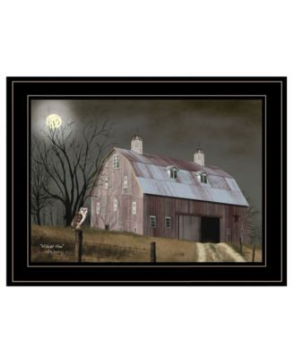 """Midnight Moon by Billy Jacobs, Ready to hang Framed Print, Black Frame, 19"""" x 15"""""""