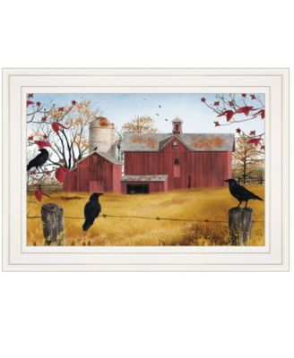 """Autumn Gold by Billy Jacobs, Ready to hang Framed Print, White Frame, 15"""" x 11"""""""