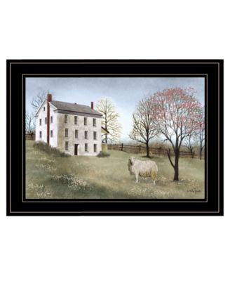 """Spring at White House Farm by Billy Jacobs, Ready to hang Framed Print, Black Frame, 21"""" x 15"""""""