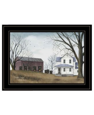 """Sunday Service by Billy Jacobs, Ready to hang Framed Print, Black Frame, 21"""" x 15"""""""