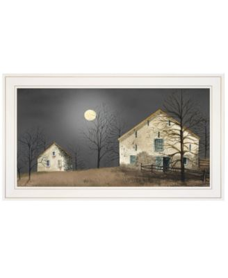 """Still of the Night by Billy Jacobs, Ready to hang Framed Print, White Frame, 21"""" x 15"""""""