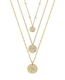Lucky Coin Necklace Set