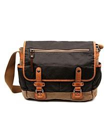 Tapa Canvas Messenger Bag
