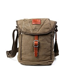 Forest Canvas Flap Crossbody Bag
