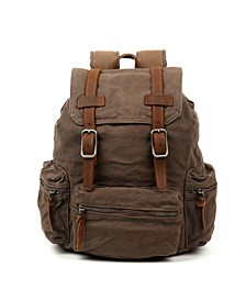 Silent Trail Canvas Backpack