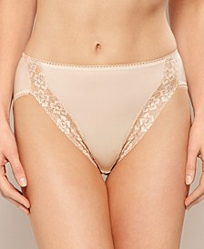Bodysuede Lace Leg Hi Cut Brief 89371