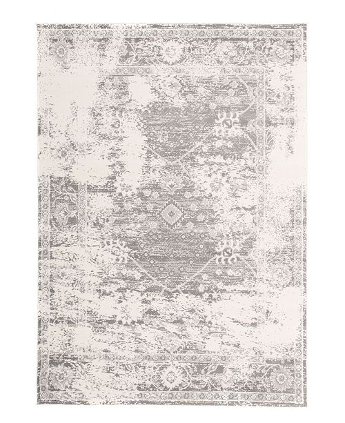 Main Street Rugs Home Lyon Lyn848 Gray Area Rug Collection