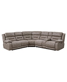 Horus 3 Piece Reclining Sectional