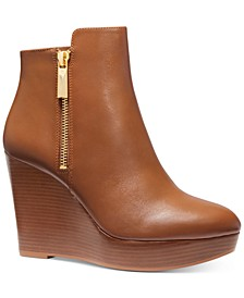 Alane Wedge Booties
