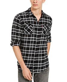 Men's Stoney Regular-Fit Plaid Flannel Shirt