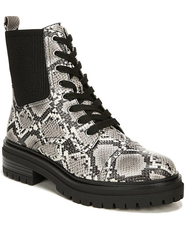 Circus by Sam Edelman Giovanny Lug Sole Combat Booties