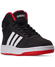Big Boys Hoops 2.0 Mid Top Casual Sneakers from Finish Line