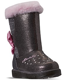 Toddler Girls Twinkle Toes Glitzy Glam Cozy Cuties Boots from Finish Line