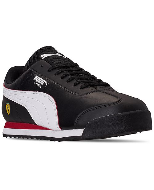 Puma Men's Scuderia Ferrari Roma Casual Sneakers from Finish ...