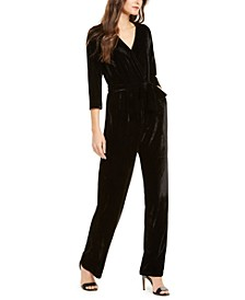 Petite Belted Jumpsuit