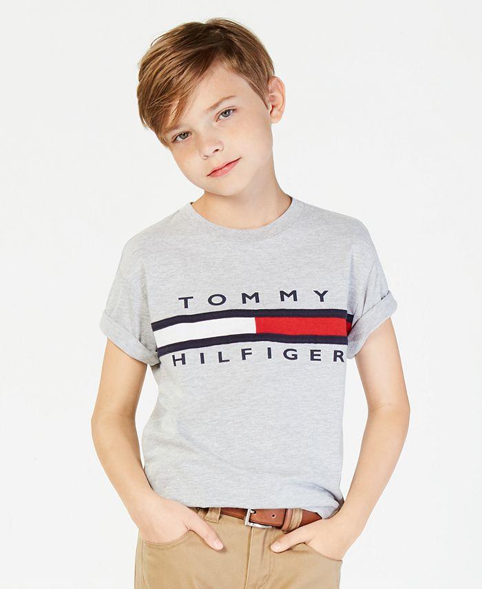 Tommy Hilfiger - Graphic-Print Cotton T-Shirt, Big Boys