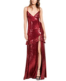 Walker Sequin Gown