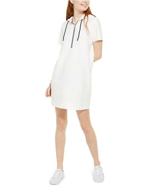 Tommy Hilfiger Hoodie T-Shirt Dress, Created For Macy's