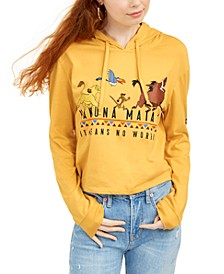 Juniors' Lion King Graphic Hoodie