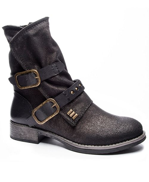 Dirty Laundry Tycen Canvas Booties