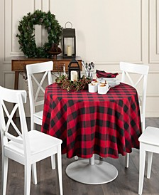 "Farmhouse Living Buffalo Check Tablecloth - 70"" Round"
