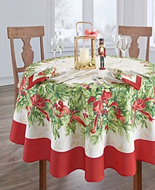 Holly Traditions Holiday Tablecloth - 70""