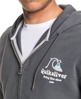 Quiksilver Mens Sweet as Slab Zip Fleece