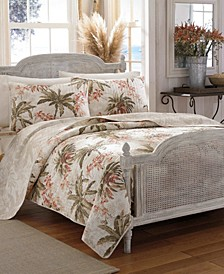 Tommy Bahama Bonny Cove Full/Queen Quilt Sham Set