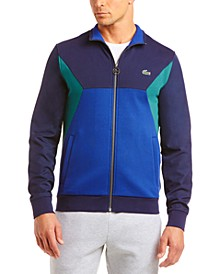 Men's Tricot Colorblocked Track Jacket